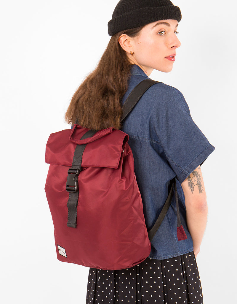 Mi-Pac Nylon Day Pack SP - Burgundy