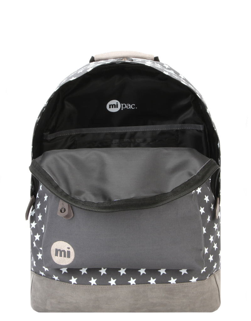 3a85847e6d0 Mi-Pac Backpack - All Stars Solid Pocket Charcoal