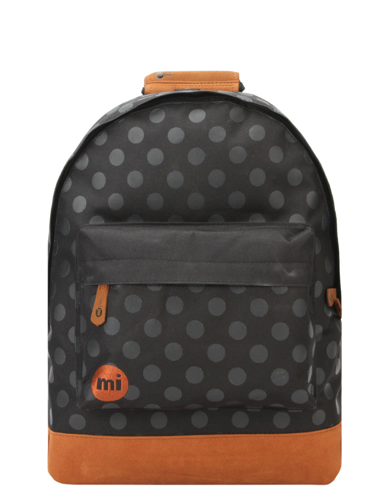 Mi-Pac Backpack - All Polka Black