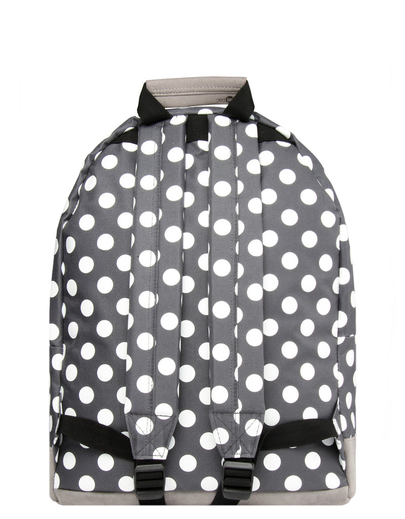 Mi-Pac Backpack - All Polka Charcoal/White
