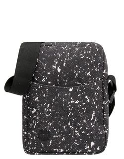 Mi-Pac Flight Bag - Splattered Black/White