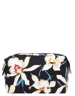 Mi-Pac Gold Wash Bag - Orchid Navy