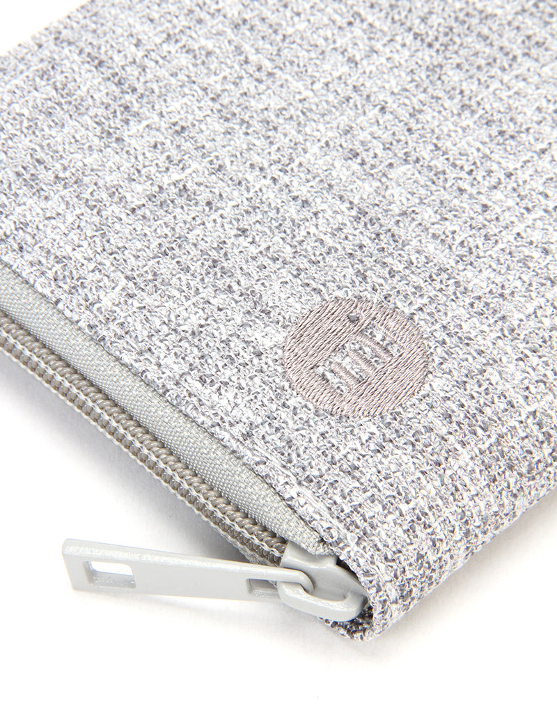 Mi-Pac Zip Purse - Crepe Grey