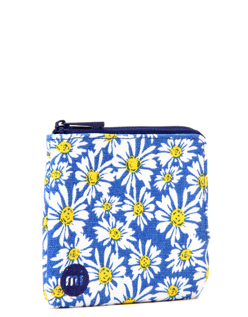 Mi-Pac Coin Holder - Daisy Crazy Blue