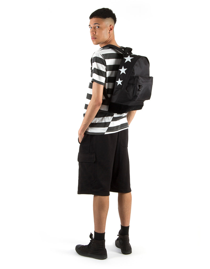 Mi-Pac Backpack - Topstars Black
