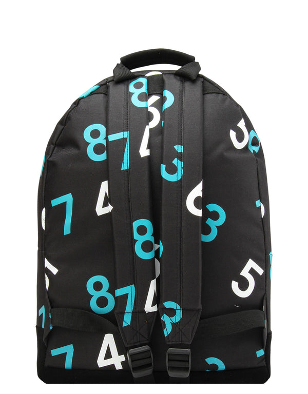 Mi-Pac Backpack - Numbers Black