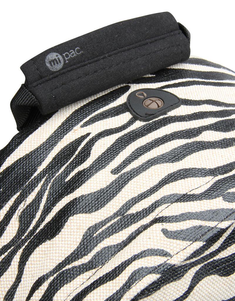 Mi-Pac Backpack - Canvas Zebra