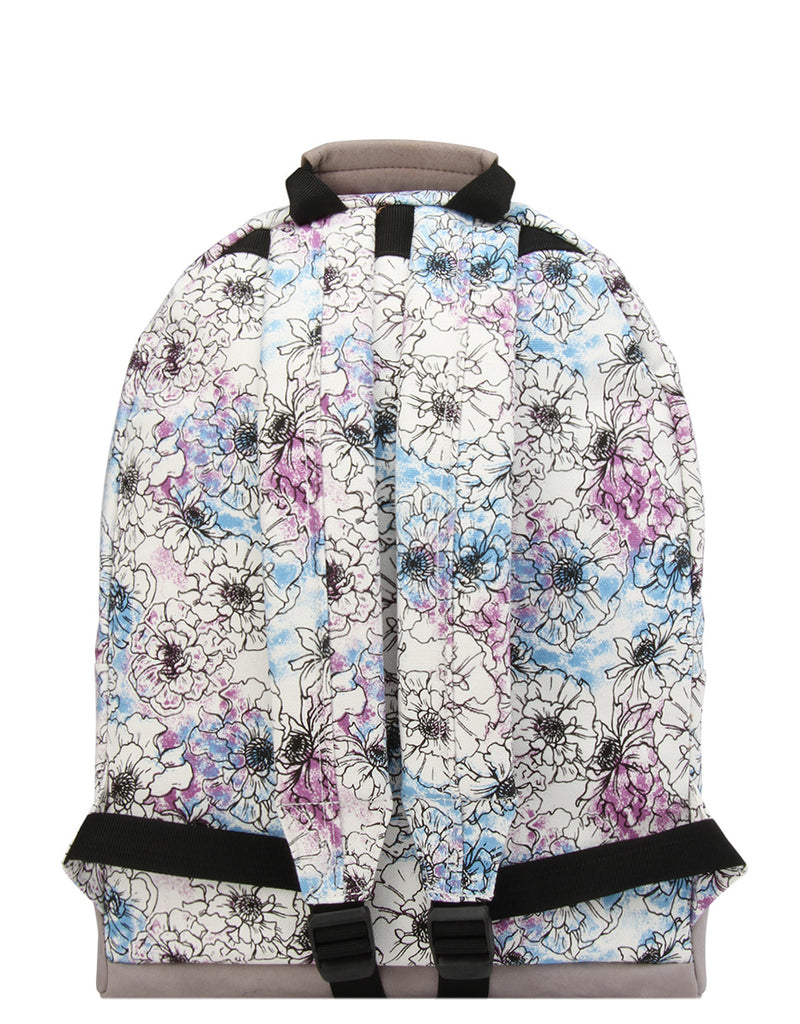 Mi-Pac Backpack - Unfinished Floral Cream Multi