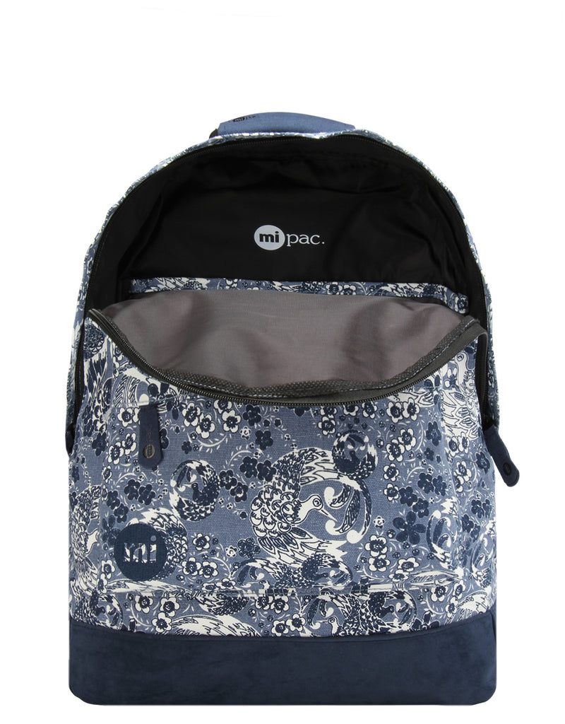 Mi-Pac Backpack - Oriental Birds Blue