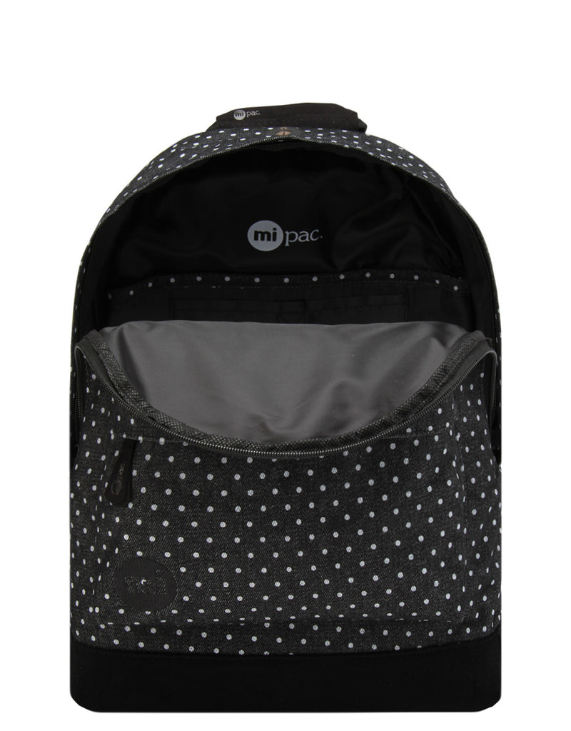Mi-Pac Backpack - Denim Spot Black/White