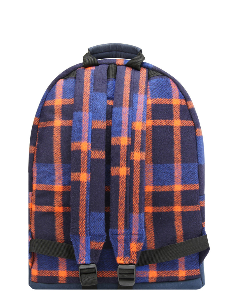 Mi-Pac Backpack - Picnic Check Navy/Orange