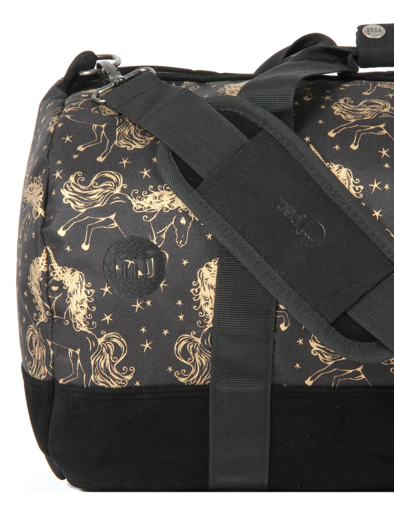 Mi-Pac Duffel - Unicorns Black/Gold