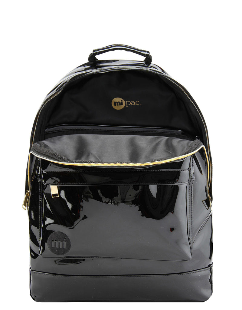 Mi-Pac Gold Backpack - Patent Black