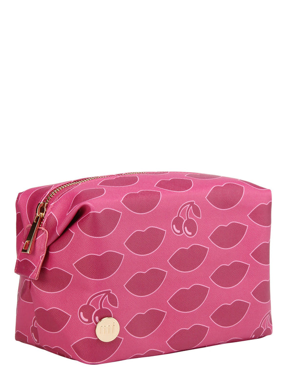 Mi-Pac Gold Wash Bag - Lypsyl Wild Cherry