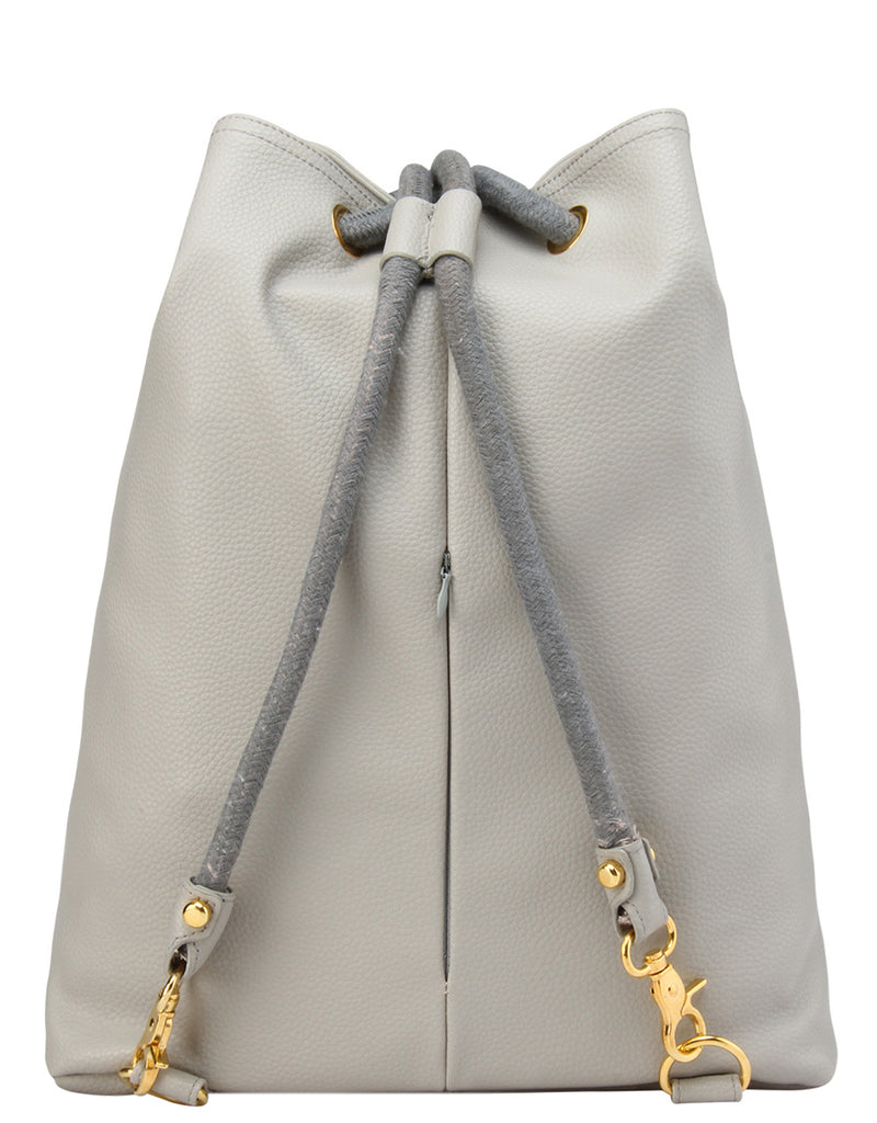 Mi-Pac Gold Swing Bag - Tumbled Light Grey