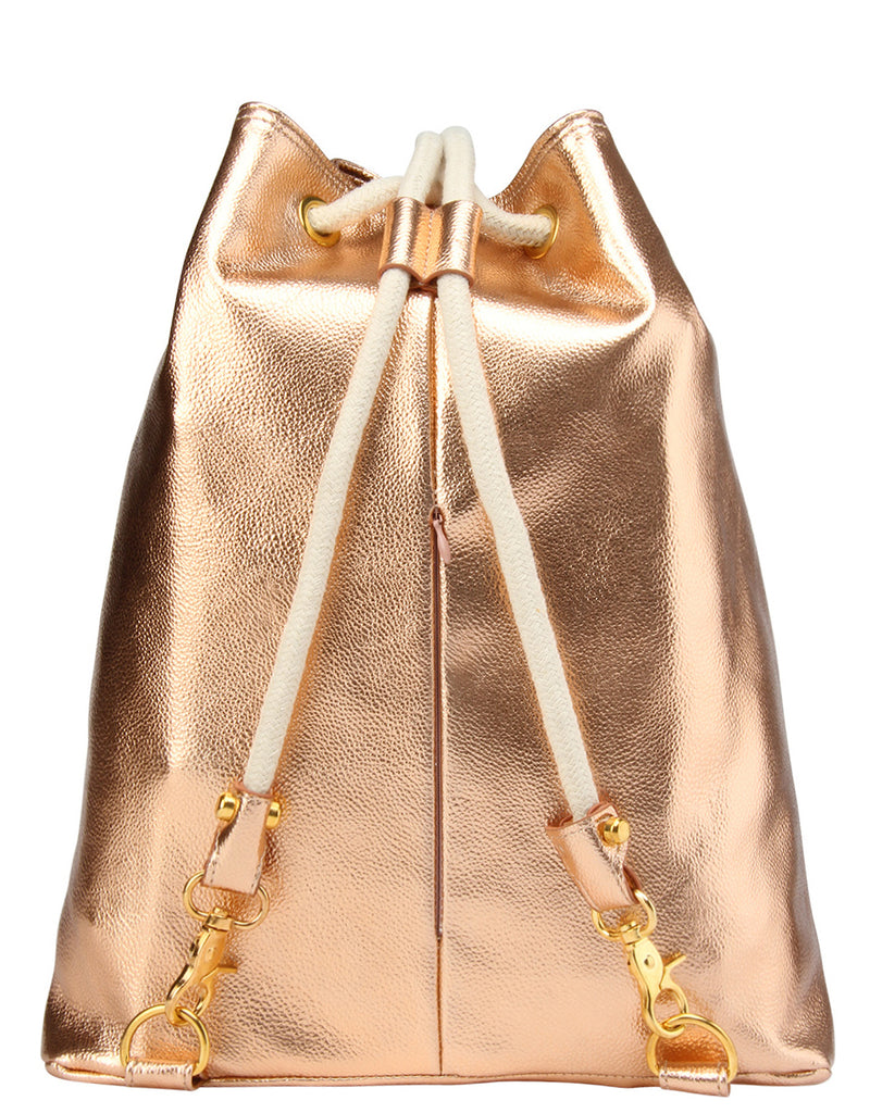 Mi-Pac Gold Swing Bag - Metallic Rose Gold