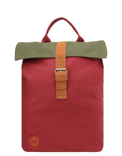 Mi-Pac Day Pack - Tonal Canvas Burgundy/Khaki