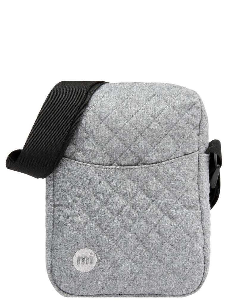 Mi-Pac Flight Bag - Quilted Grey