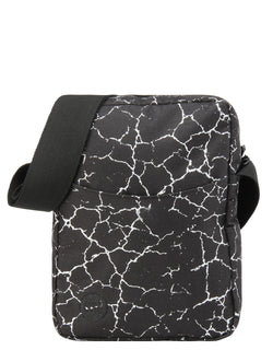 Mi-Pac Flight Bag - Cracked Black/Silver