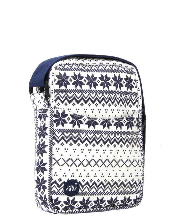Mi-Pac Flight Bag - Fair isle Navy/White