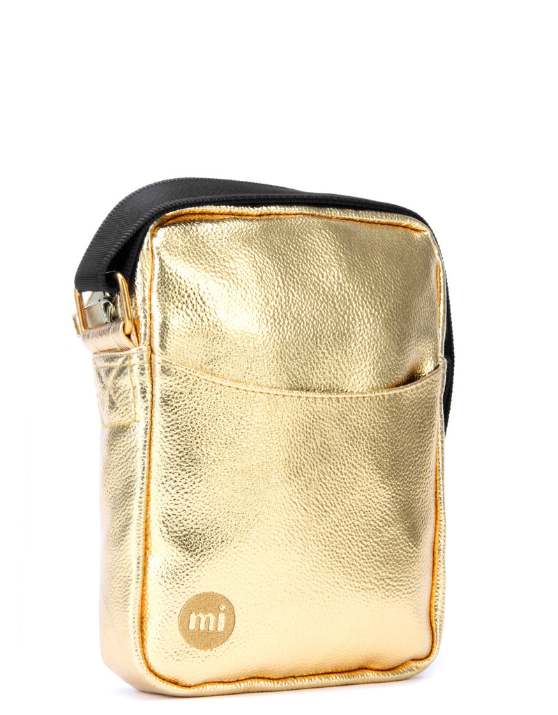 Mi-Pac Gold Flight Bag - 24K Gold