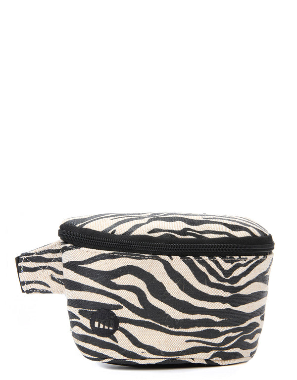 Mi-Pac Bum Bag - Canvas Zebra Black/White