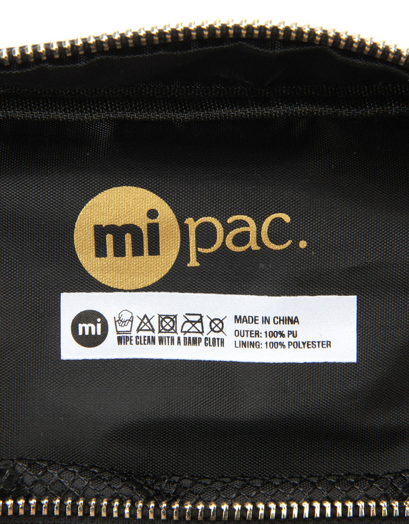Mi-Pac Gold Travel Kit - Tumbled Black
