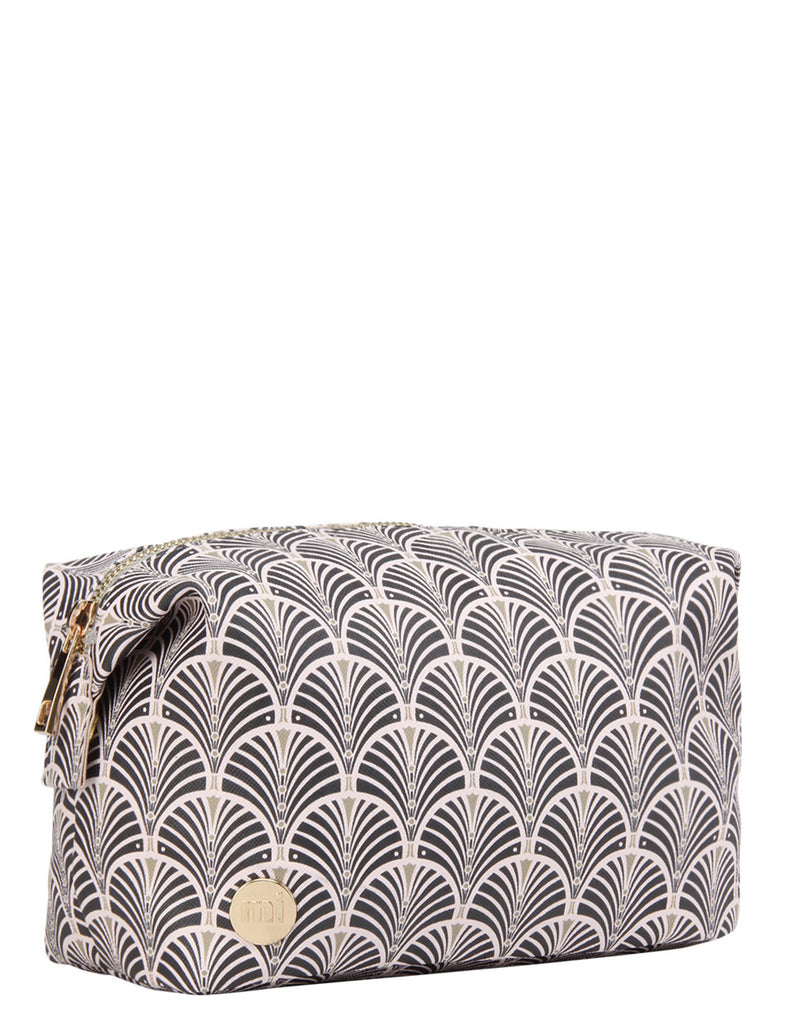 Mi-Pac Gold Wash Bag - Art Deco Blush