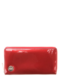 Mi-Pac Zip Purse - Patent Red
