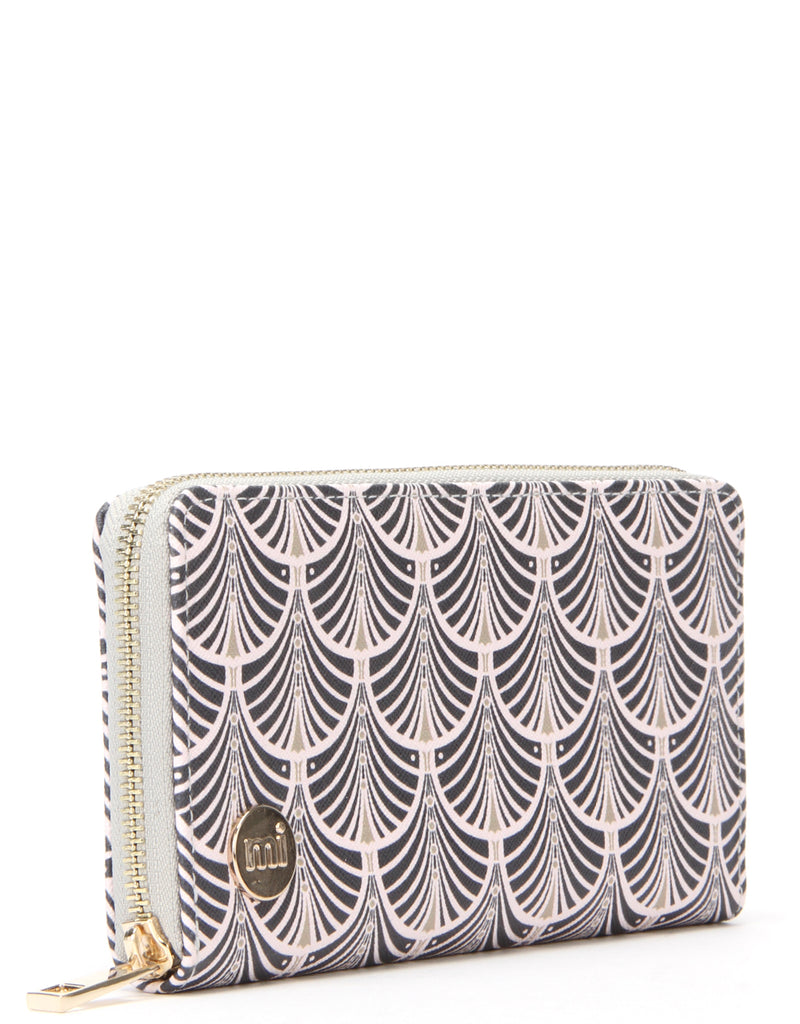 Mi-Pac Zip Purse - Art Deco Blush