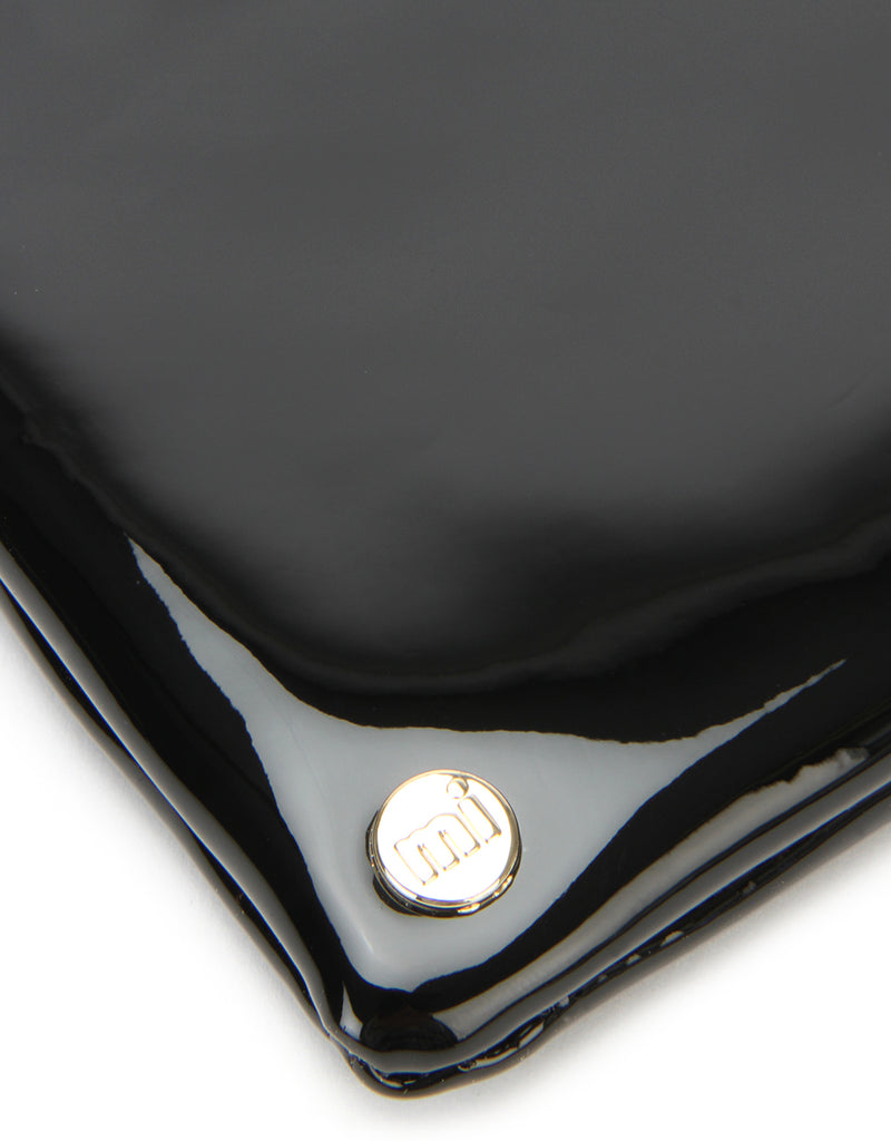 Mi-Pac Coin Holder - Patent Black