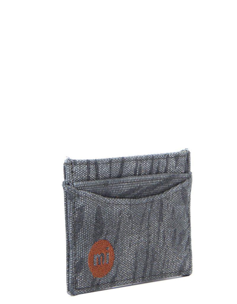 Mi-Pac Card Holder - Tiger Stripe Grey