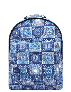 Mi-Pac Backpack - Souk Tile Blue
