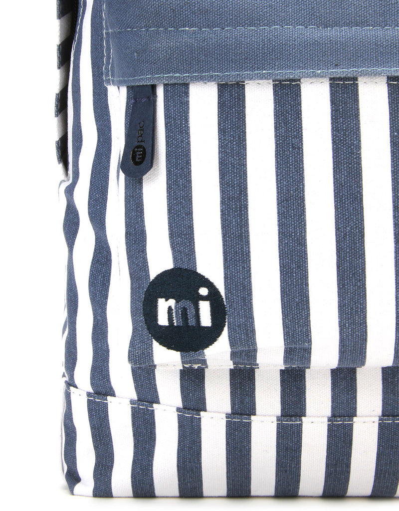 Mi-Pac Backpack - Seaside Stripe