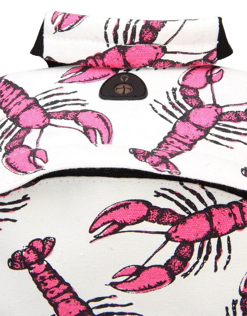 Mi-Pac Backpack - Lobsters White/Pink