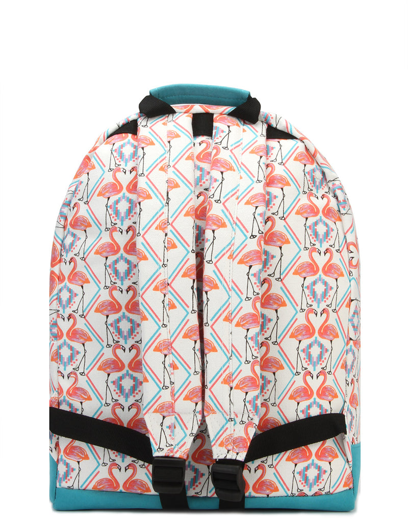 Mi-Pac Backpack - Flamingos White
