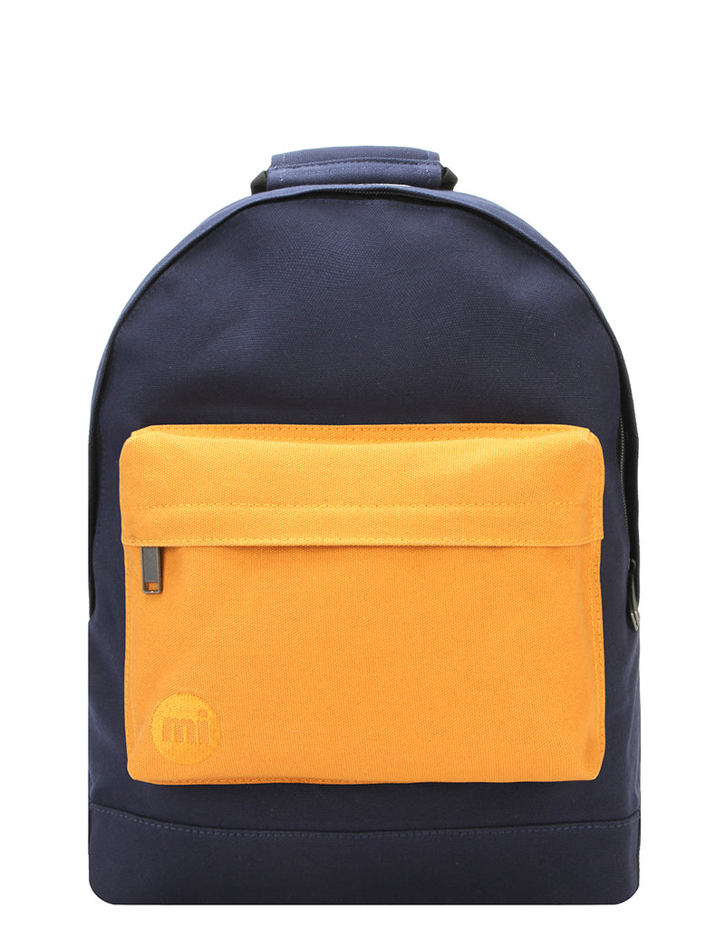 Mi-Pac Backpack - Canvas Tonal Navy/Yellow