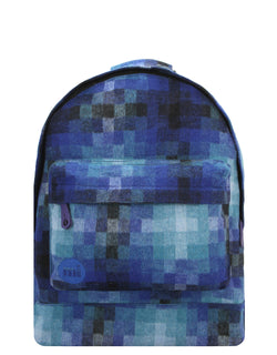 Mi-Pac Backpack - Pixel Check Blue