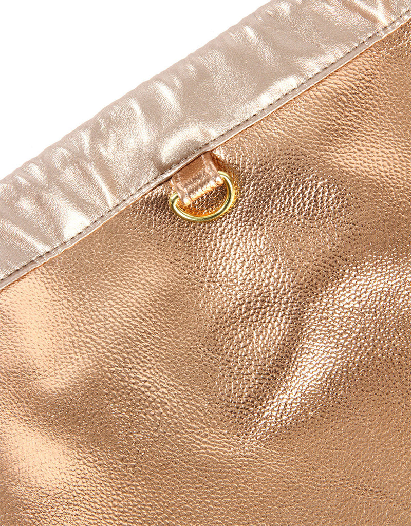 Mi-Pac Gold Kit Bag - Metallic Rose Gold