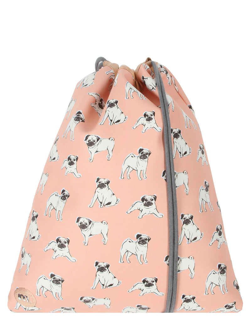 Mi-Pac Gold Kit Bag - Pugs Peach