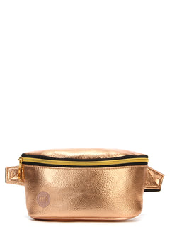 Mi-Pac Gold Slim Bum Bag - Metallic Rose Gold