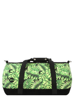 Mi-Pac Duffel - Tropical Leaf Black