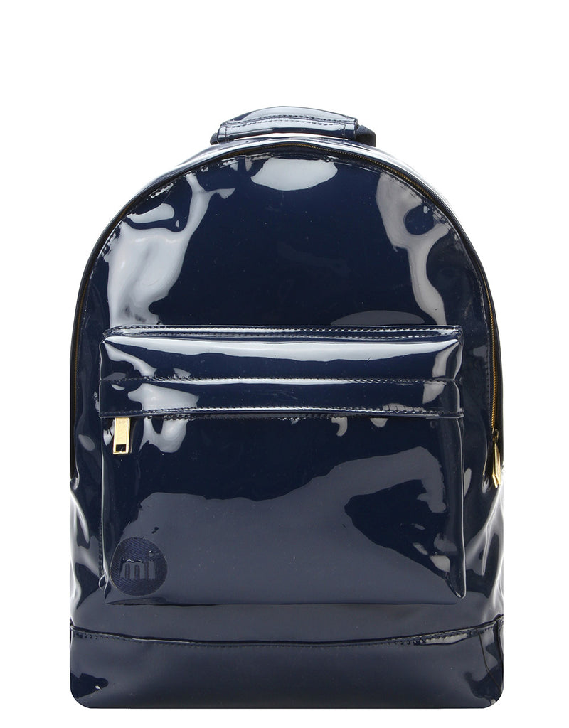 Mi-Pac Gold Backpack - Patent Navy