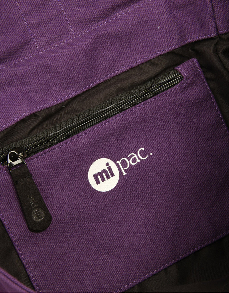 Mi-Pac Day Pack - Canvas Deep Purple