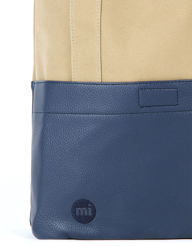 Mi-Pac Gold Tote - 50/50 Canvas Tumbled Sand/Navy