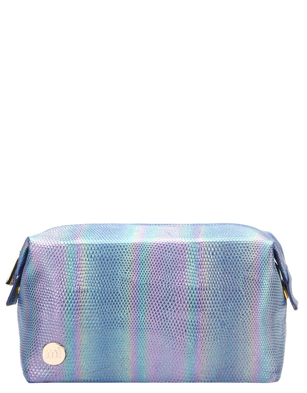 Mi-Pac Gold Wash Bag - Mermaid Blue