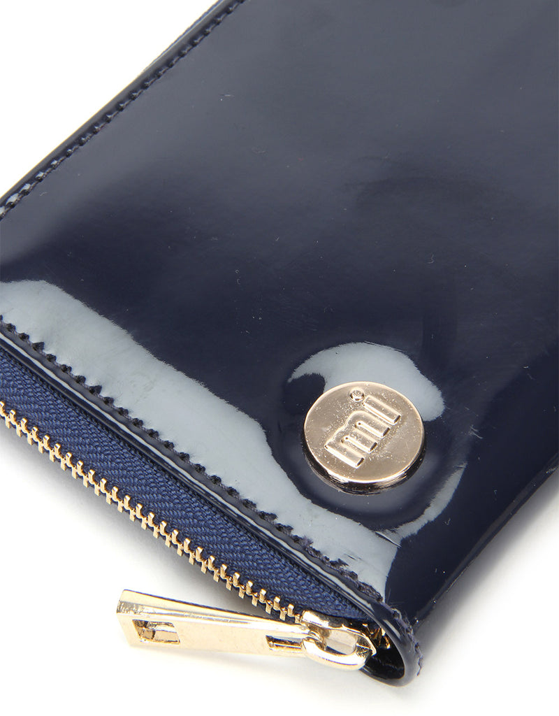 Mi-Pac Zip Purse - Patent Navy