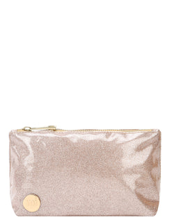 Mi-Pac Make Up Bag - Glitter Champagne