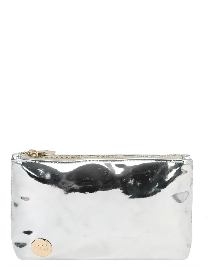 Mi-Pac Make Up Bag - Mirror Silver