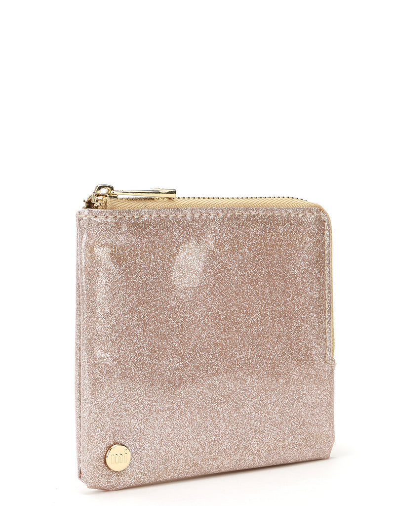 Mi-Pac Coin Holder - Glitter Champagne